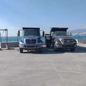 2 Dumper Trucks Completed Their Journey From Turkey to USA